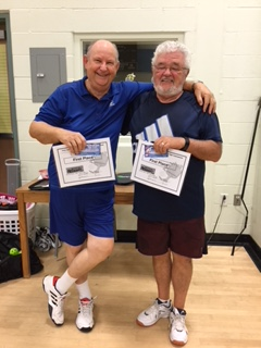 Round 2 first place winners Bob and Gilles